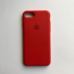 iPhone 7 / 8 Apple Silicon Case (PRODUCT) Red